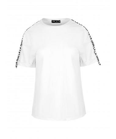 T-shirt z lampasem OOH LA LA